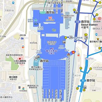 韩巢韩国旅游地图4月更新