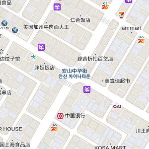 韩巢韩国旅游地图7月更新