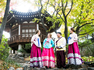 【Korea House】traditional food and folk show