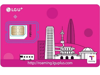 LG U+ Prepaid SIM(including T-money) card【Incheon/Gimpo/Gimhae】