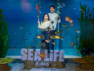 Admission ticket for SEA LIFE Busan Aquarium