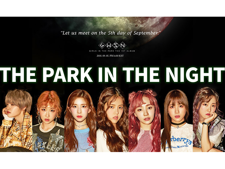 THE PARK IN THE NIGHT