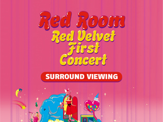 Red Velvet Film Concert ticket