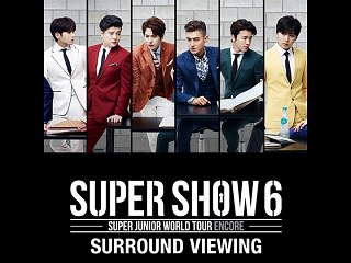 SUPER JUNIOR Film Concert ticket