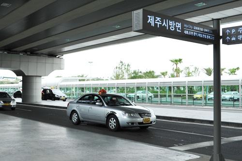 济州市方向出租车乘车站
