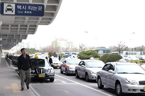 出租车乘车站
