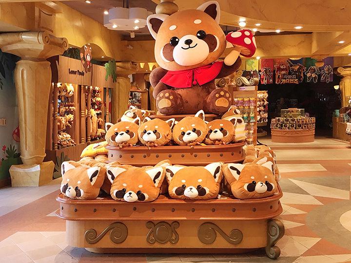 【爱宝乐园】各种各样的动物玩偶