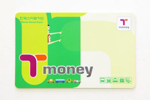 一般型 价格:2,500韩元 购买场所:地铁站、T-money卡加盟便利店、街头小卖店