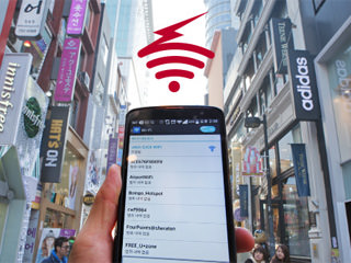 Wifi rental for your travel in Korea