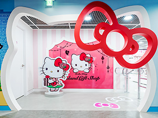 Hello Kitty Island In N首尔塔